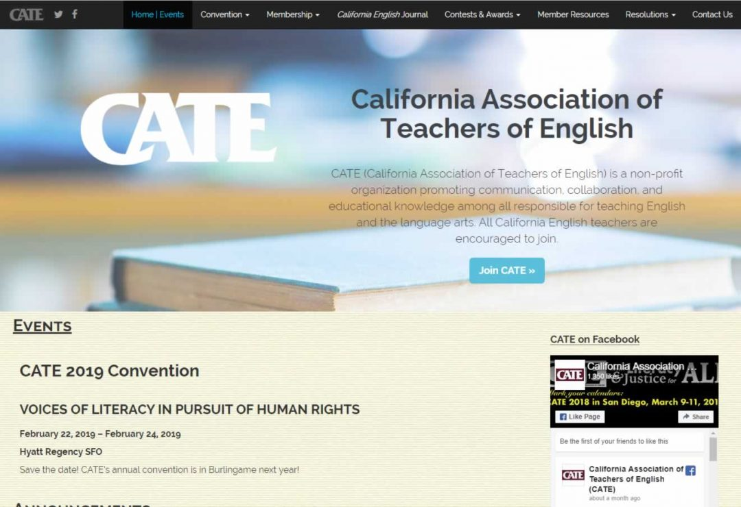 California Association of Teachers of English